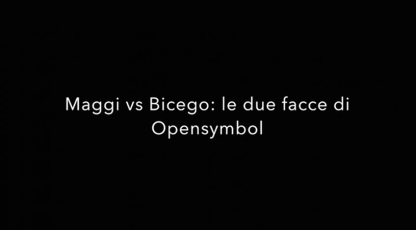 Stefano Bicego vs Enrico Maggi: doppia intervista OpenSymbol
