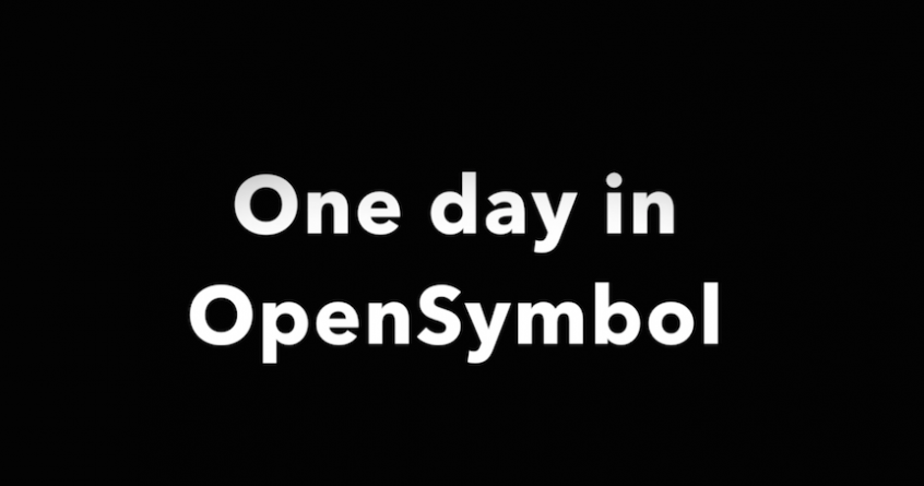 One day in OpenSymbol