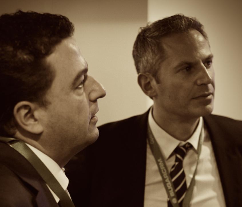 Stefano Bicego ed Enrico Maggi