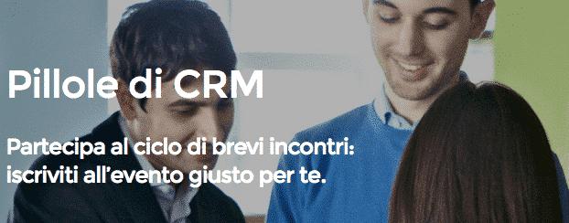 Pillole di CRM: eventi formativi gratuiti organizzati da OpenSymbol