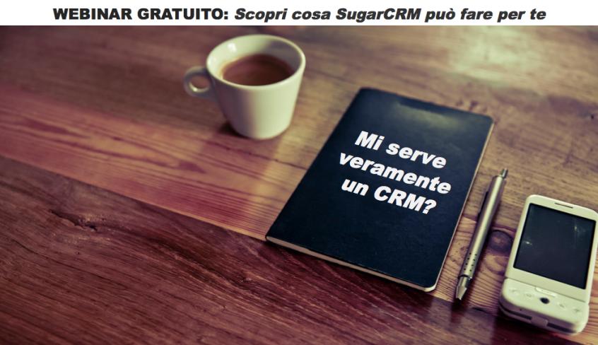 Webinar SugarCRM