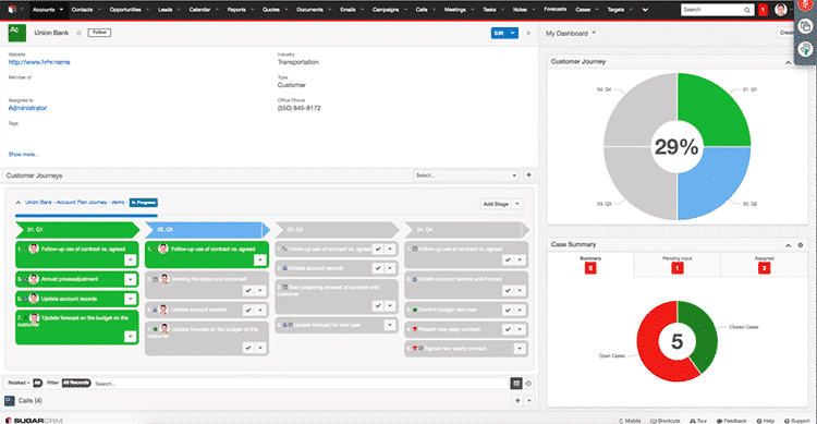 Customer Journey Plugin SugarCRM