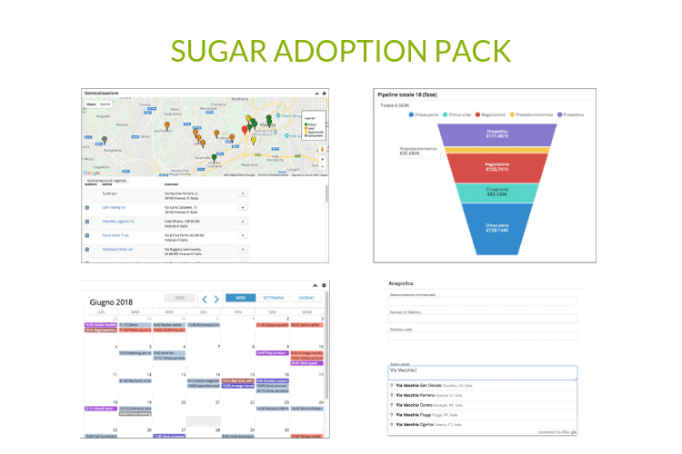 SUGAR ADOPTION PACK - Copertina