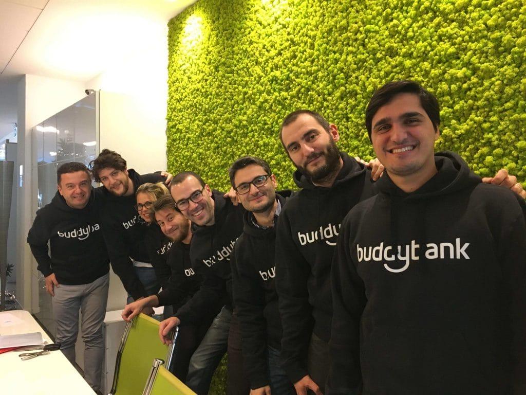 Foto del team openSymbol dedicato al progetto buddybank