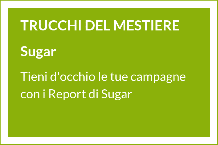 Impara, passo dopo passo, come impostare dei Report per monitorare le tue campagne marketing con SugarCRM