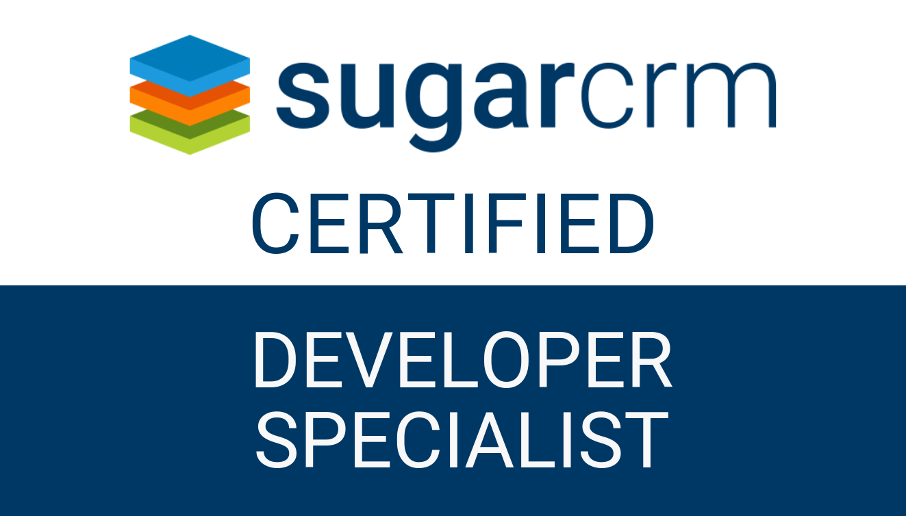 SugarCRM - Developer Specialist