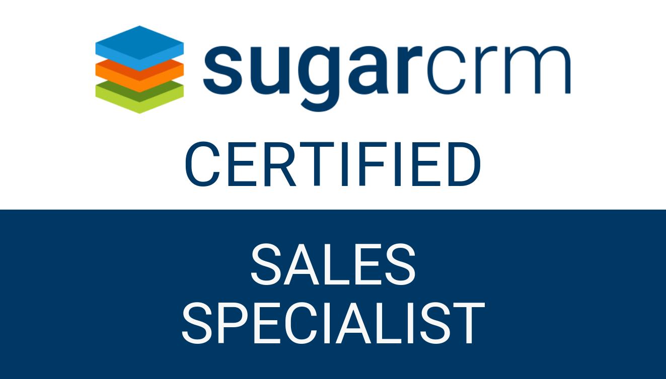 SugarCRM - Sales Specialist
