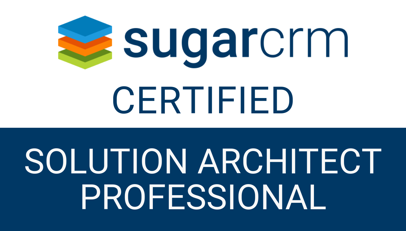 SugarCRM - Solution Architect Professional