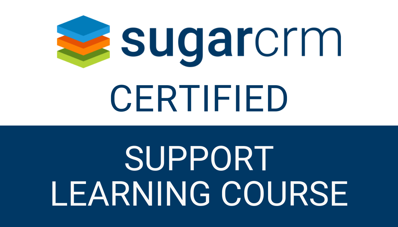 SugarCRM - Support Learning Course