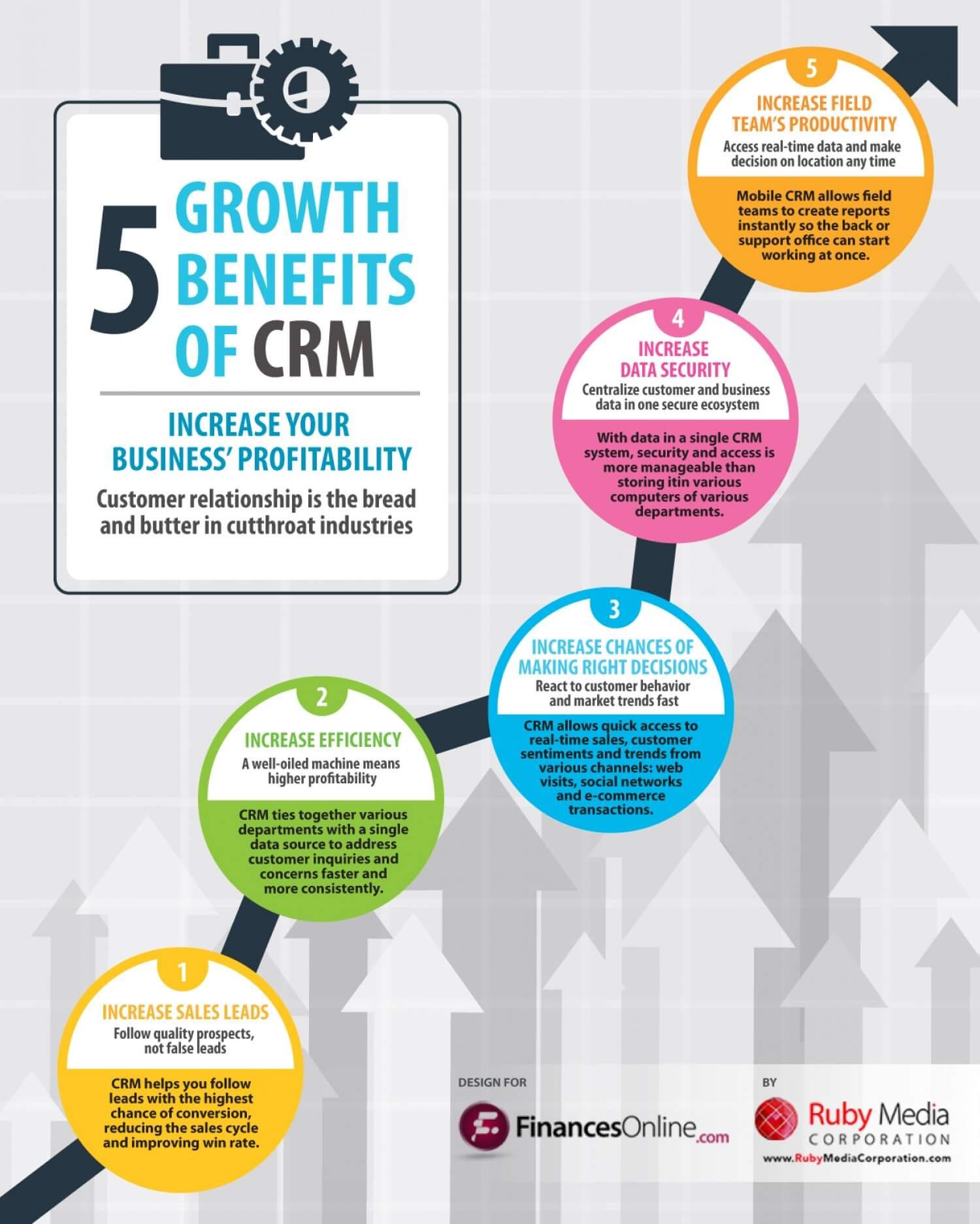 Infografica CRM - Visually