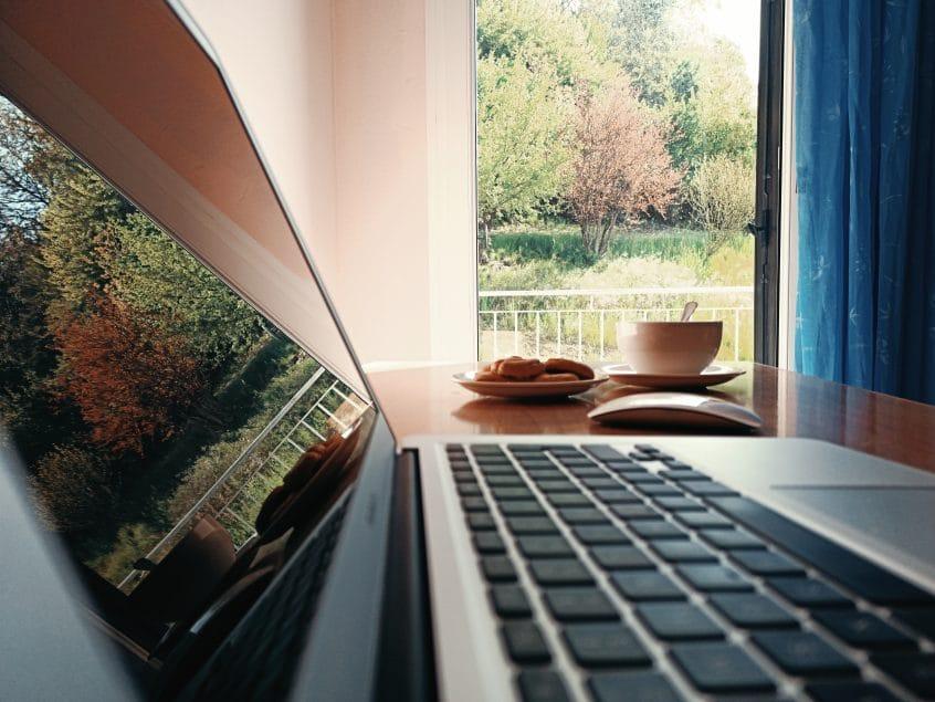 Utilizzo di un PC durante lo smart working