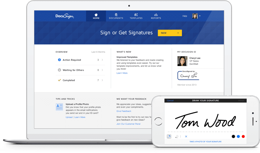 Docusign - firma elettronica