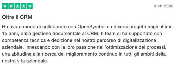 Recensioni su OpenSymbol - The CRM Company