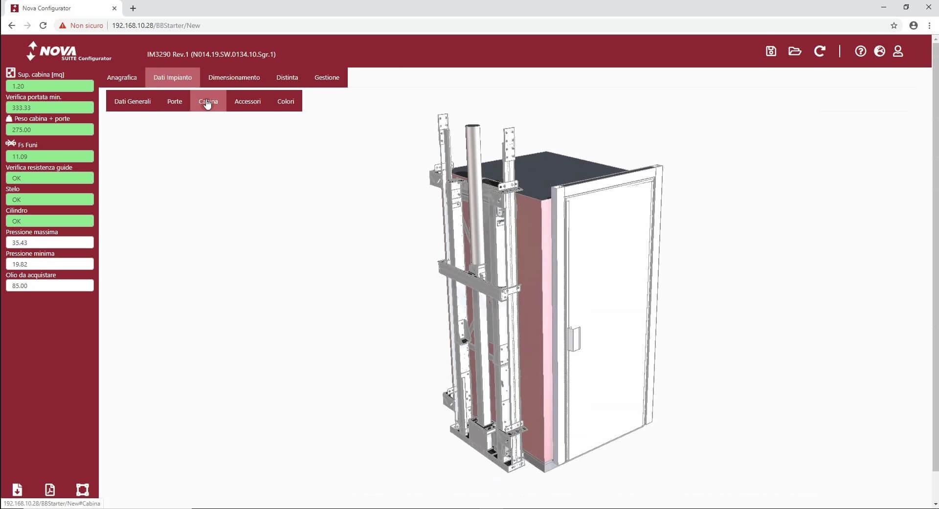 11 CPQ Configuratore di prodotto dashboard