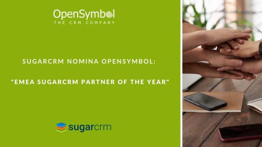 OpenSymbol è EMEA SugarCRM Partner dell'anno 2020